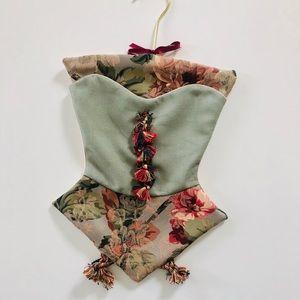 Fancy corset shape multi Function accessory bags
